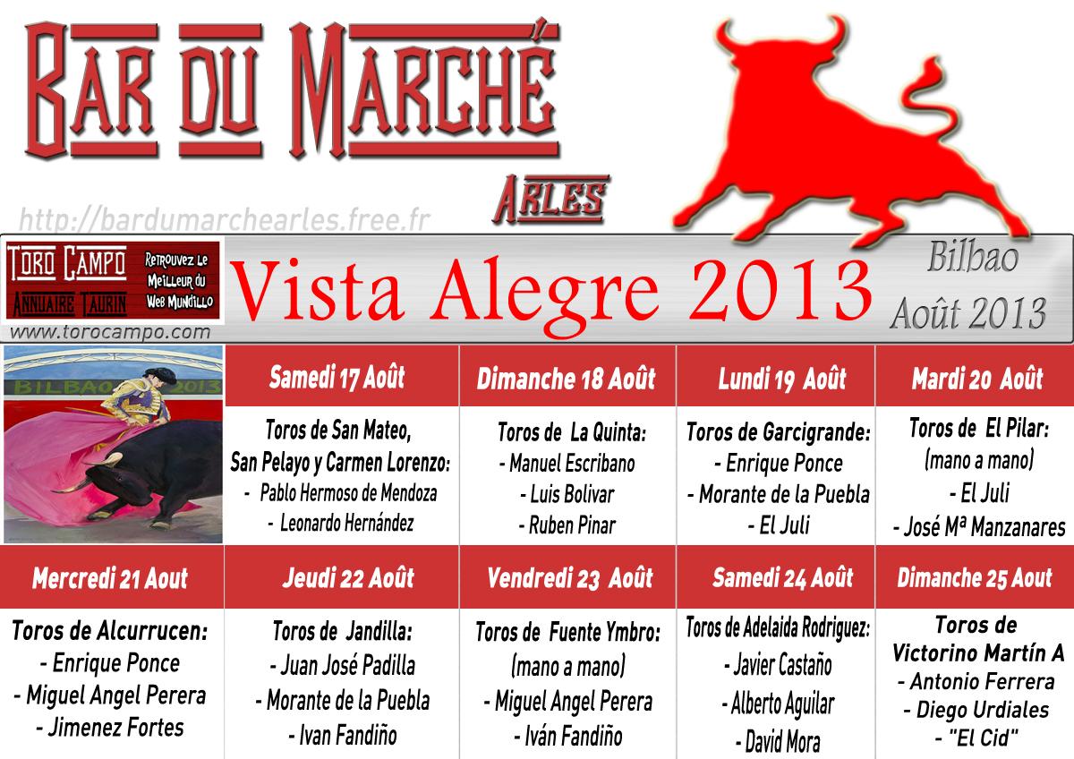 Cartels Bilbao 2013 Bar du Marché Arles